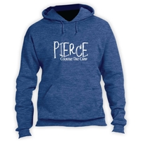 PIERCE COUNTRY DAY CAMP VINTAGE HOODED SWEATSHIRT