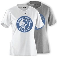 PIERCE COUNTRY DAY CAMP LADIES UNDER ARMOUR TEE