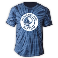 PIERCE COUNTRY DAY CAMP TIE DYE TEE