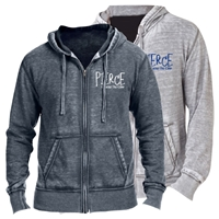 PIERCE COUNTRY DAY CAMP UNISEX BURNOUT HOODY