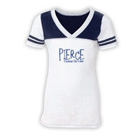 PIERCE COUNTRY DAY CAMP  SPORTY BURNOUT V-NECK