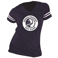 PIERCE DAY CAMP LADIES GAME DAY TEE