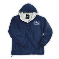 PIERCE COUNTRY DAY CAMP FULL ZIP JACKET WITH HOOD