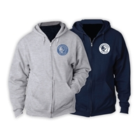 PIERCE COUNTRY DAY CAMP FULL ZIP HOODED SWEATSHIRT
