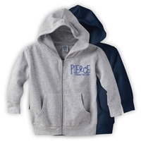 PIERCE COUNTRY DAY CAMP TODDLER FULL ZIP HOODED SWEATSHIRT