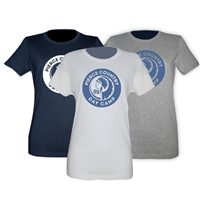 PIERCE COUNTRY DAY CAMP GIRLS FITTED TEE