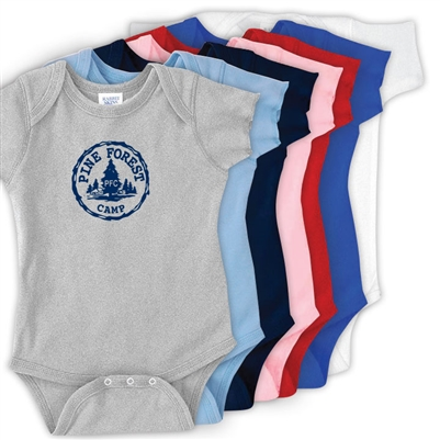 PINE FOREST INFANT BODYSUIT