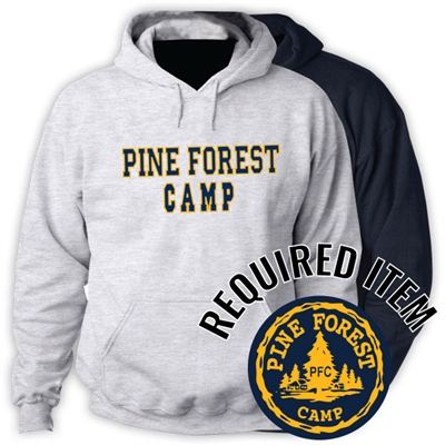 PINE FOREST OFFICIAL HOODED SWEATSHIRT