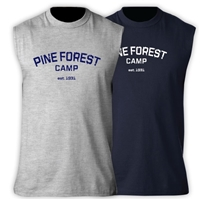 PINE FOREST SLEEVLESS TEE