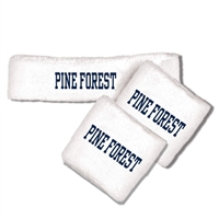 PINE FOREST HEADBAND/WRISTBAND SET