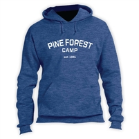 PINE FOREST VINTAGE HOODED SWEATSHIRT