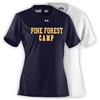 PINE FOREST LADIES UNDER ARMOUR TEE