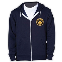 PINE FOREST AMERICAN APPAREL FLEX FLEECE HOODY