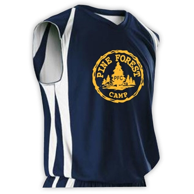 PINE FOREST OFFICIAL REV BASKETBALL JERSEY