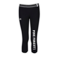 PINE FOREST GIRLS UNDER ARMOUR HEAT GEAR ALPHA CAPRI