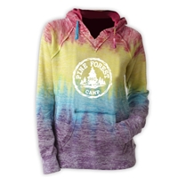 PINE FOREST COURTNEY BURNOUT V-NOTCH SWEATSHIRT