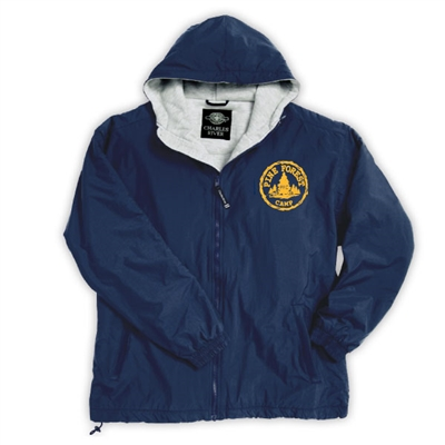 PINE FOREST FULL ZIP JACKET WITH HOOD