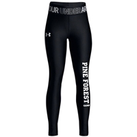 PINE FOREST GIRLS UNDER ARMOUR HEAT GEAR LEGGING