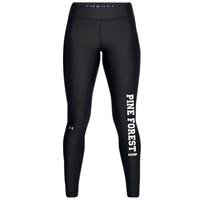 PINE FOREST LADIES UNDER ARMOUR HEAT GEAR LEGGING