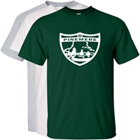 PINEMERE OFFICIAL SHEILD LOGO CAMP TEE