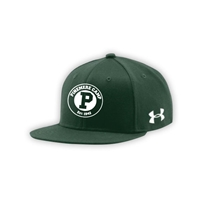 PINEMERE UNDER ARMOUR FLAT BRIM STRETCH FITTED CAP