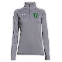 PINEMERE LADIES UNDER ARMOUR STRIPE TECH 1/4 ZIP