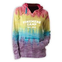 PINEMERE COURTNEY BURNOUT V-NOTCH SWEATSHIRT