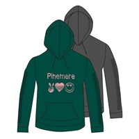 PINEMERE FULL SLEEVE SNIP HOODY CUT BY ALI & JOE