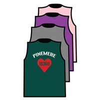 PINEMERE CUSTOM DESIGN MUSCLE TEE BY ALI & JOE
