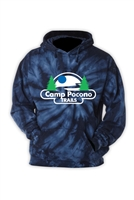 POCONO TRAILS NAVY TIE DYE SWEATSHIRT