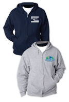 POCONO TRAILS FULL ZIP HOODED SWEATSHIRT