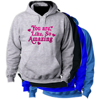 SO AMAZING HOODED SWEATSHIRT