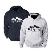 SANBORN BIG SPRING RANCH OFFICIAL HOODED SWEATSHIRT