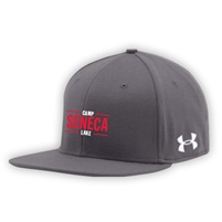 SENECA LAKE UNDER ARMOUR FLAT BRIM STRETCH FITTED CAP