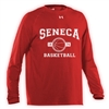 SENECA LAKE UNDER ARMOUR BASKETBALL LONGSLEEVE TEE