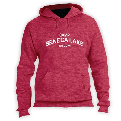 SENECA LAKE VINTAGE HOODED SWEATSHIRT