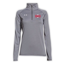 SENECA LADIES UNDER ARMOUR STRIPE TECH 1/4 ZIP
