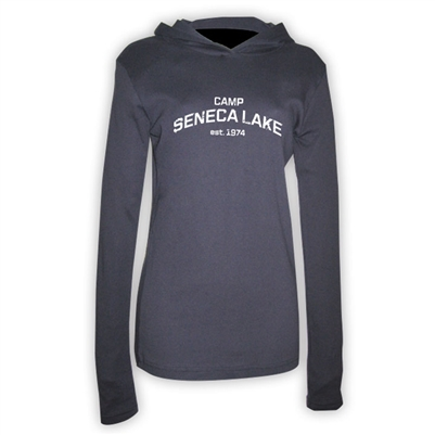 SENECA LAKE AMERICAN APPAREL LONG SLEEVE HOODIE