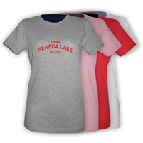 SENECA LAKE GIRLS FITTED TEE
