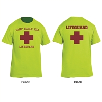 EAGLE HILL LIFEGUARD STAFF TEE
