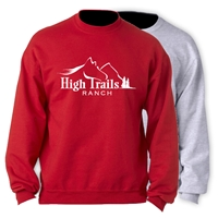 SANBORN HIGH TRAILS OFFICIAL CREW SWEATSHIRT