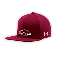 SANBORN HIGH TRAILS UNDER ARMOUR FLAT BRIM STRETCH FITTED CAP