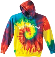 SANBORN HIGH TRAILS SWIRL TIE DYE SWEATSHIRT