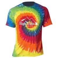 SANBORN HIGH TRAILS SWIRL TIE DYE TEE