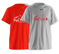 SANBORN HIGH TRAILS RANCH UNDER ARMOUR TEE
