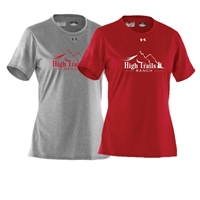 SANBORN HIGH TRAILS RANCH LADIES UNDER ARMOUR TEE