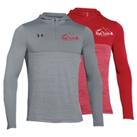 SANBORN HIGH TRAILS RANCH UNDER ARMOUR TECH 1/4 ZIP HOODY