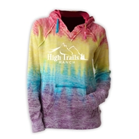 SANBORN HIGH TRAILS COURTNEY BURNOUT V-NOTCH SWEATSHIRT