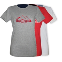 SANBORN HIGH TRAILS GIRLS FITTED TEE