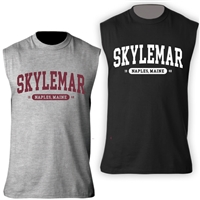 SKYLEMAR SLEEVLESS TEE